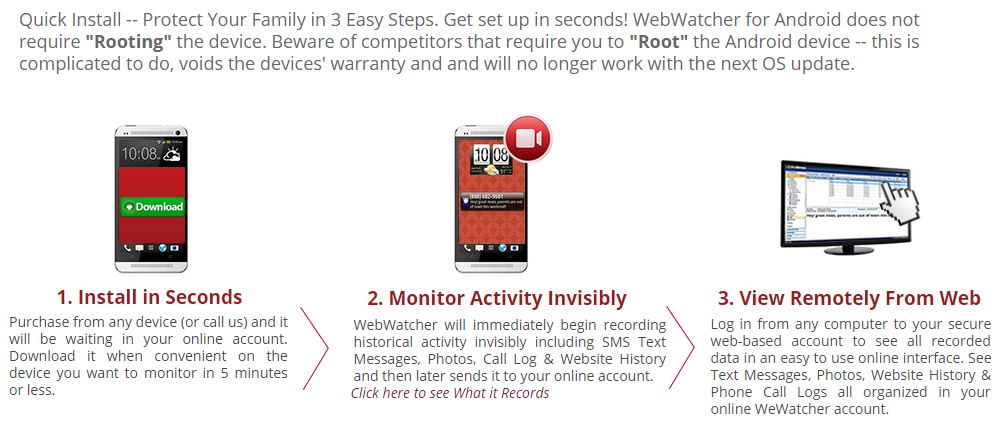 WebWatcher Review - WebWatcher Now Offer Cell Phone