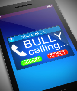 The Risk of Cyber Bullying by Text Messages
